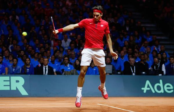 Federer Backhand vs Gasquet