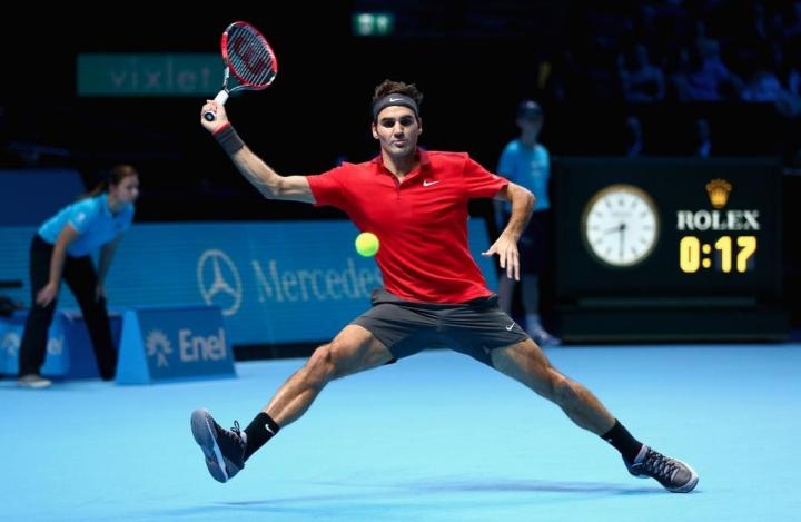 Federer Defeat Raonic London