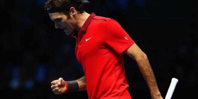 Federer Defeat Wawrinka London 2014