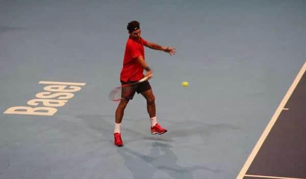 Federer Forehand Basel