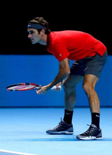 Federer London 2nd Round Robin Match