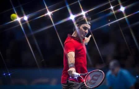 Federer Raonic Round Robin London