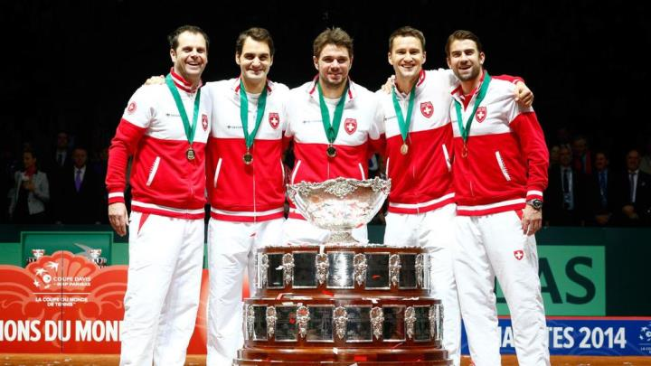 Swiss Win Davis Cup 2014