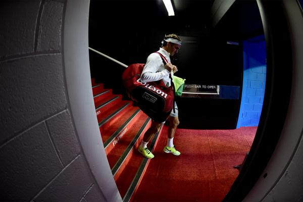 Federer 1st Round Australian Open 2015