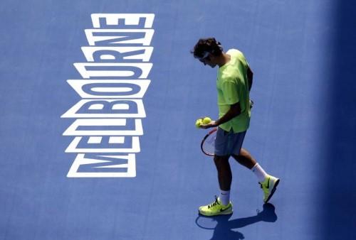 Federer 2nd Round Aussie Open 2015