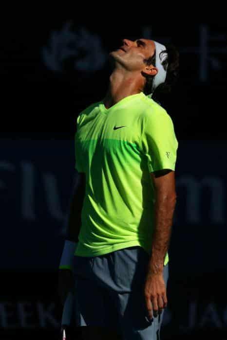 Federer 3rd Round AO 2015