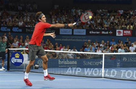 Federer Crushes Duckworth Brisbane