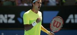 Federer Defeat Bolelli AO 2015