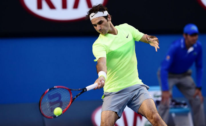 Federer Defeat Lu AO 2015