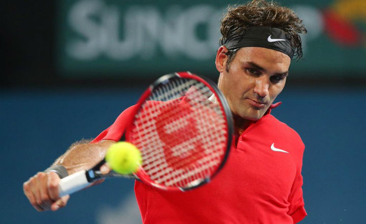 Federer Defeats Millman Brisbane