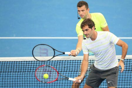 Federer Dimitrov Brisbane