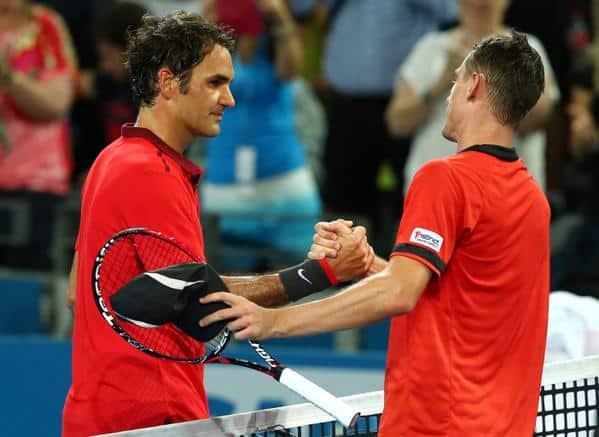 Federer Millman Brisbane ATP 250