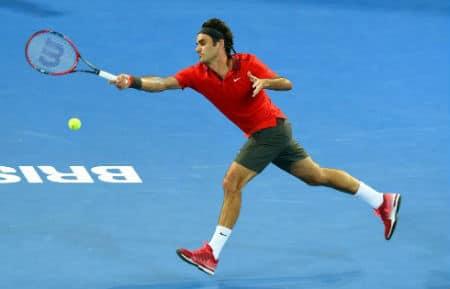 Federer Millman Brisbane