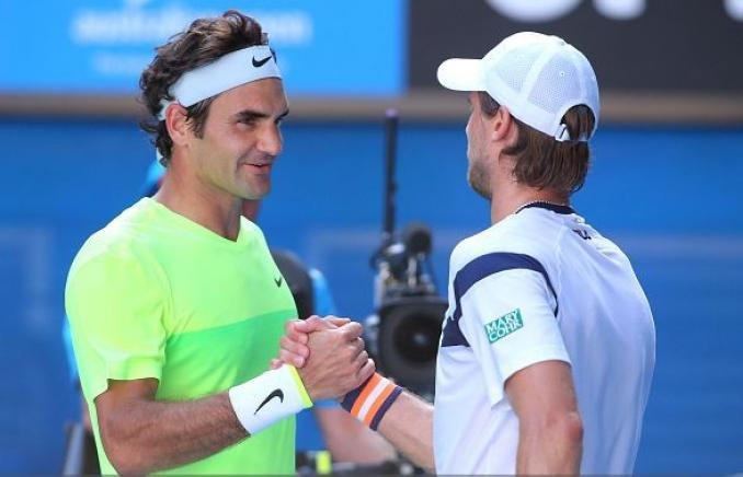 Federer Seppi Aussie Open