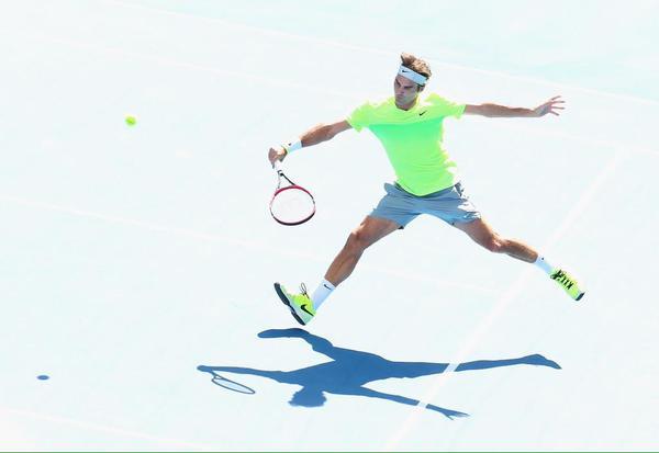 Federer Volley vs Bolelli AO 2015
