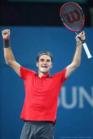Federer Wins 1000th Match Brisbane