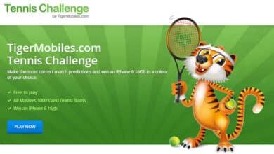 Tiger Mobiles Tennis Challenge