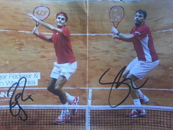 Fed and Stan Autographs