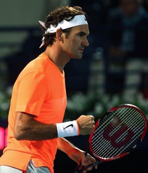Federer Defeat Verdasco Dubai 2015