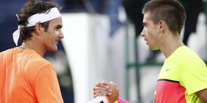 Federer Defeats Coric Dubai Semi Final 2015