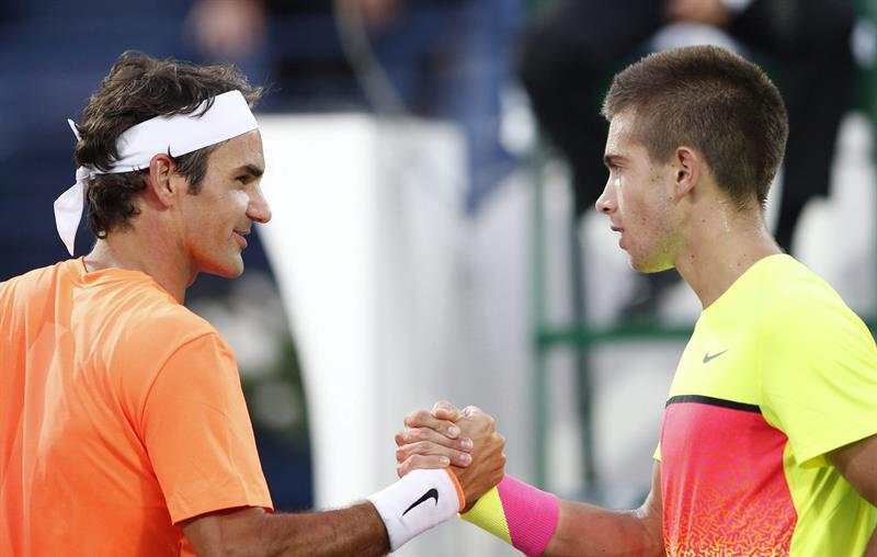 Photo of Federer Dispatches Coric to Make Dubai Final