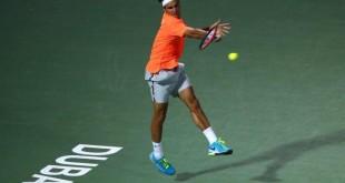 Federer Defeats Youzhny Dubai 2015