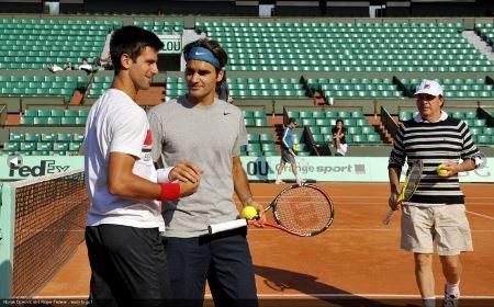 Federer Djokovic Dubai