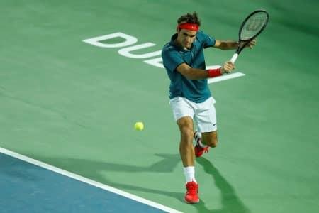 Federer Dubai Tennis 2014
