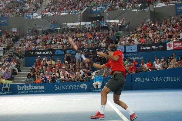Federer Forehand vs Millman