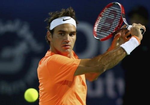 Federer Gasquet Dubai 2015