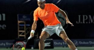 Federer Verdasco Dubai Last 16 2015