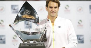 Federer Wins 7th Dubai Title