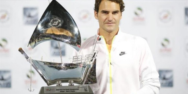 Federer Wins 7th Dubai Title
