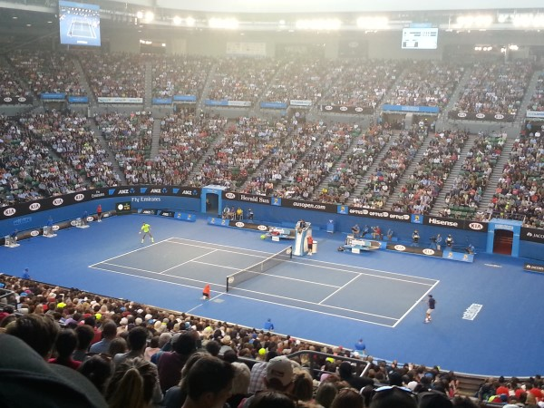 Federer vs. Lu AO 2015
