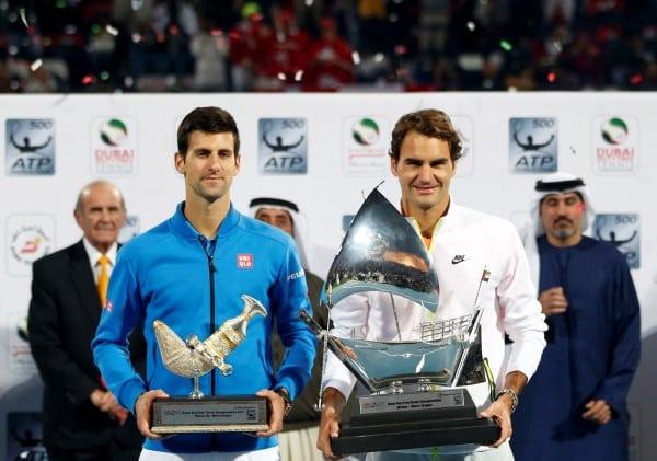 Federer Djoker Dubai
