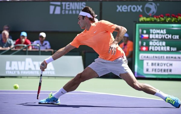 Federer Berdych IW 2015