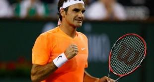 Federer Defeats Seppi Indian Wells