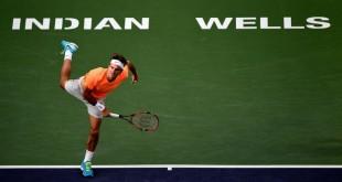 Federer Indian Wells 2nd Round 2015