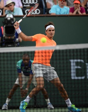 Federer Indian Wells 2nd Round Schwarzman