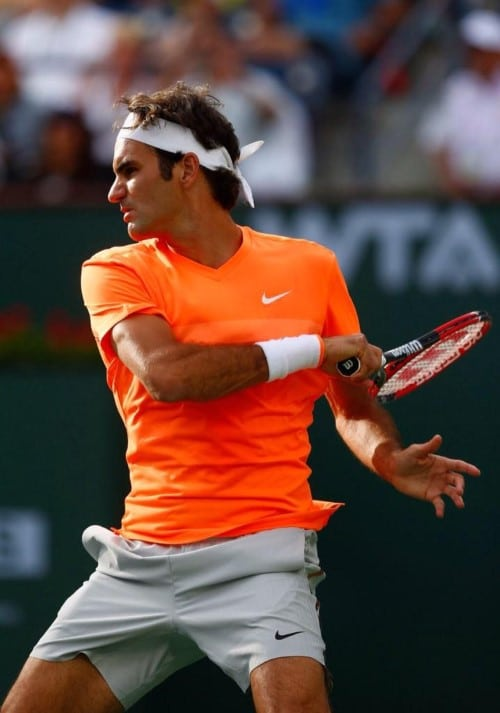 Federer Seppi Indian Wells 2015