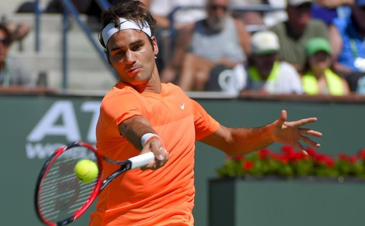 Federer defeats Raonic Indian Wells 2015