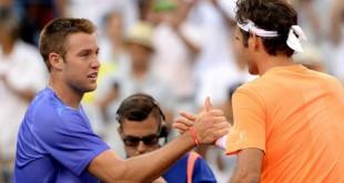Federer defeats Sock Indian Wells
