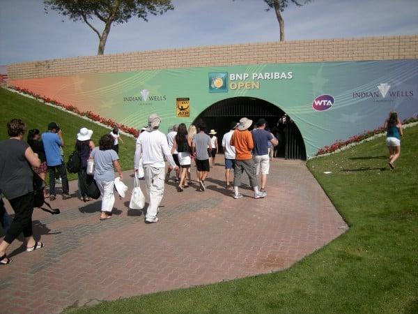 Tennis Gardens Entrance
