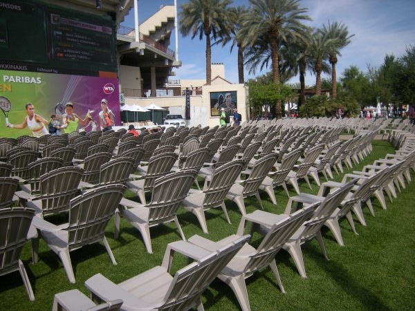 Tennis Gardens Seating