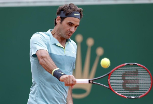 Federer Backhand Chardy Monte Carlo 2015
