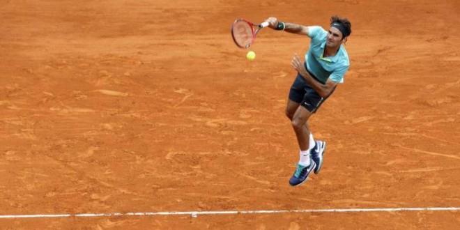 Federer Defeats Chardy Monte Carlo 2015