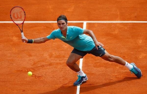 Federer Monfils Monte Carlo 2015