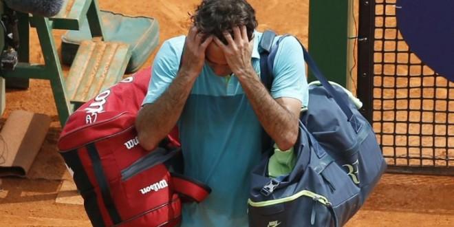 Monfils Defeat Federer Monte Carlo