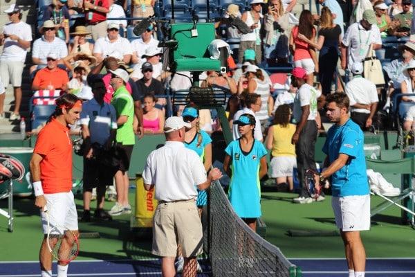 Federer vs. Stan Wawrinka