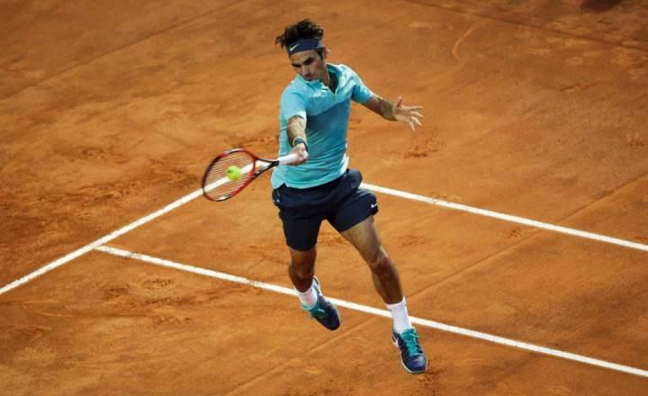 Federer 2nd Round Rome 2015